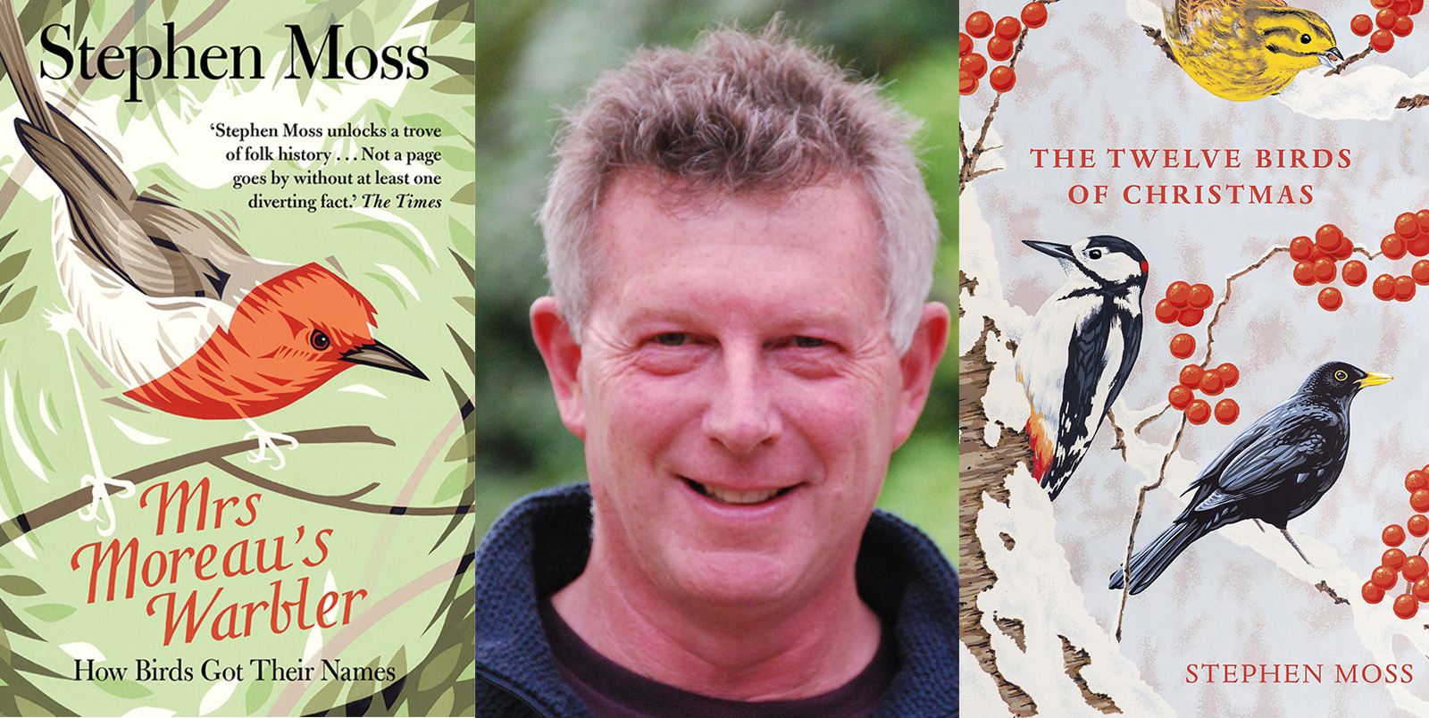 A festive bonus: The Twelve Birds of Christmas - Bridport Literary Festival